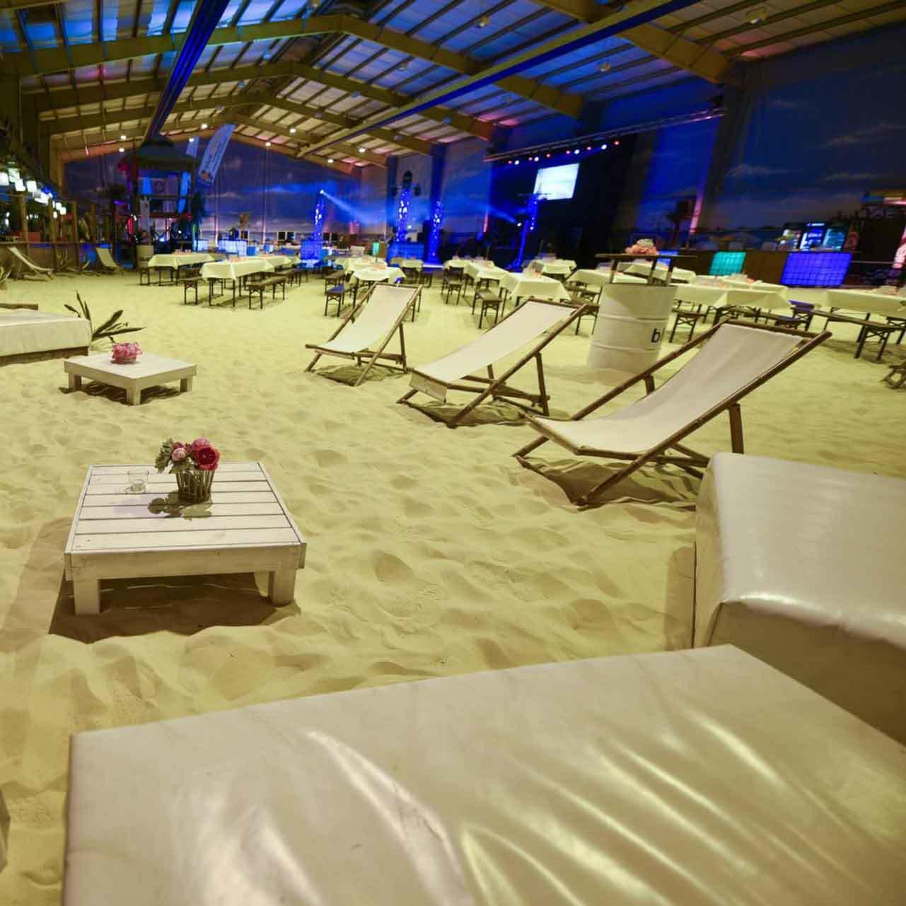 Sommerfest am Strand