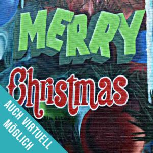Graffiti Workshop zur Weihnachtsfeier auch Virtuell