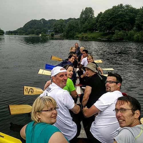 Drachenboot Fahrt Aachen