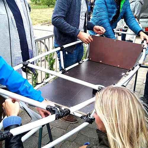 Kanubau die Duct Tape Challenge Rüsselsheim am Main