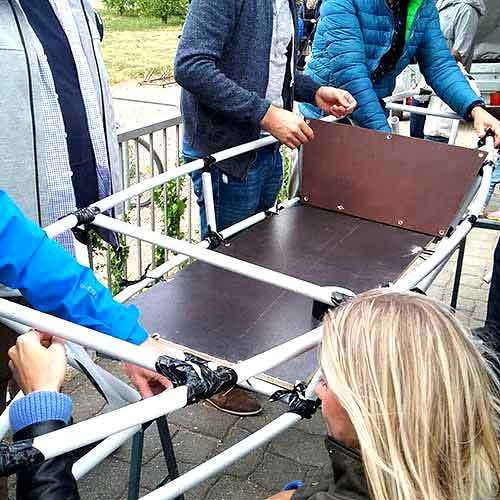 Kanubau die Duct Tape Challenge Gronau (Westfalen)